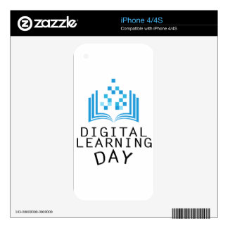 Twenty-third February - Digital Learning Day Decal For iPhone 4