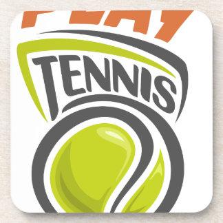 Twenty-third February - Play Tennis Day Beverage Coaster