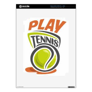 Twenty-third February - Play Tennis Day Decals For iPad 2