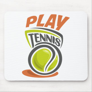 Twenty-third February - Play Tennis Day Mouse Pad