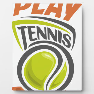 Twenty-third February - Play Tennis Day Plaque