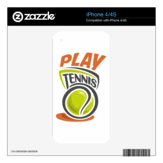 Twenty-third February - Play Tennis Day Skin For The iPhone 4S
