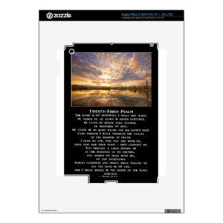Twenty-Third Psalm Prayer Decal For iPad 3