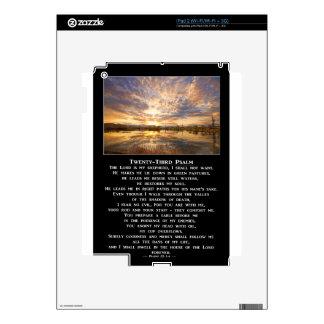 Twenty-Third Psalm Prayer iPad 2 Decal