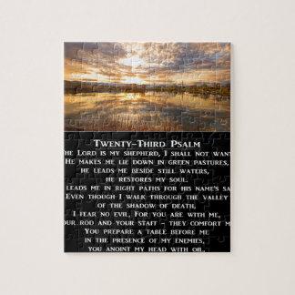 Twenty-Third Psalm Prayer Puzzle