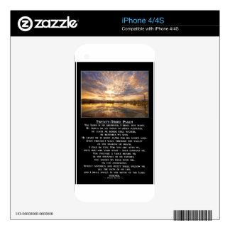 Twenty-Third Psalm Prayer Skin For The iPhone 4S