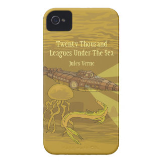 Twenty Thousand Leagues Under The Sea- Jules Verne iPhone 4 Cover