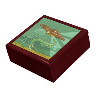 Twenty Thousand Leagues Under the Sea-Jules Verne Trinket Boxes