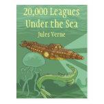 Twenty Thousand Leagues Under the Sea-Jules Verne Postcard