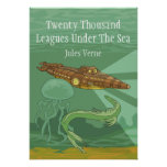 Twenty Thousand Leagues Under The Sea- Jules Verne Print