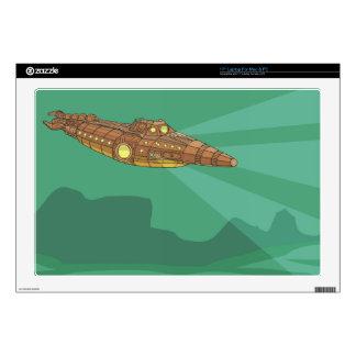Twenty Thousand Leagues Under The Sea- Jules Verne Laptop Skin