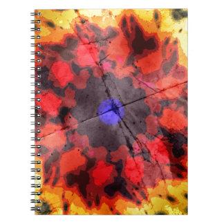 Twenty Three Degrees Off Center Spiral Note Books