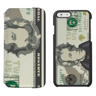Twenty  US $ Dollar Money Banknote Currency Incipio Watson™ iPhone 6 Wallet Case