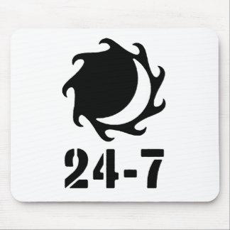 Twentyfour seven mouse pad