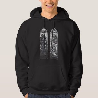 Twer and Gluestick Stained Glass Hoody