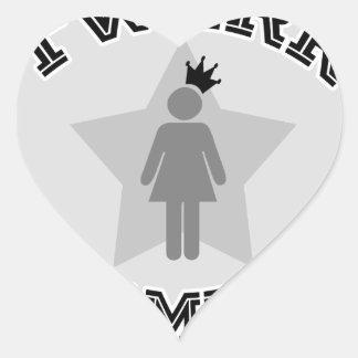 Twerk Champion Heart Sticker