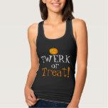 Twerk or Treat Cute Dancers Halloween Tank Top