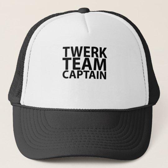 Twerk Team Captain L.png Trucker Hat