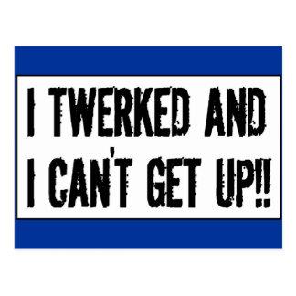 ¡Twerking más allá de 75' twerked y no puedo Tarjetas Postales