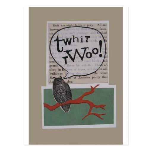 twhit-twoo postal