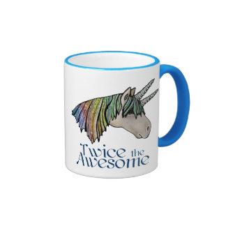 Twice the Awesome! Coffee Mug