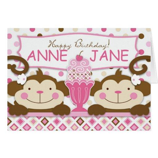 Twice the Fun GIRLS Card