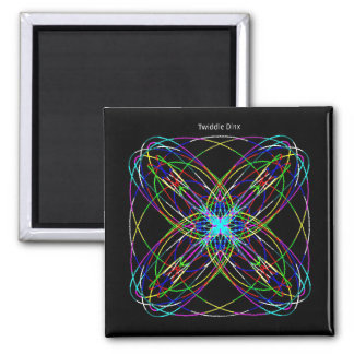 Twiddle #130 - 2 inch square magnet
