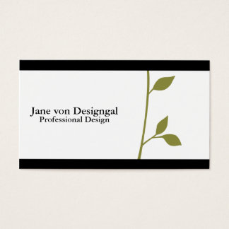 Twig and Leaf Business Card