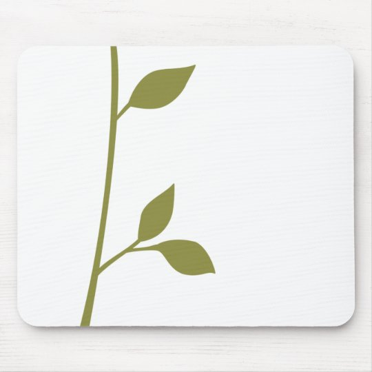 Twig and Leaf Mouse Pad