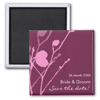 Twig- PLUM Save the date! Magnet