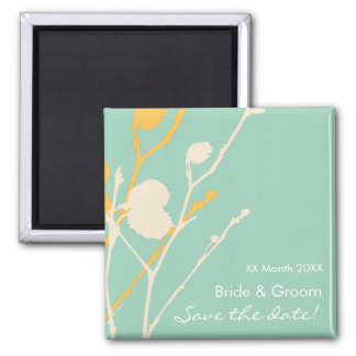 Twig- TROPICAL Save the date! Magnet
