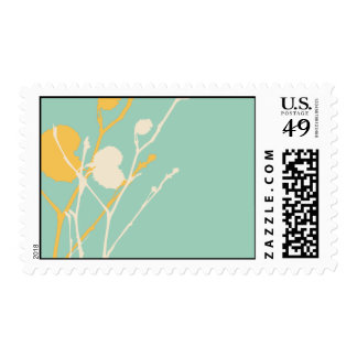 Twig TROPICAL Stamp