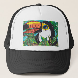 Twiggy the Toucan Trucker Hat
