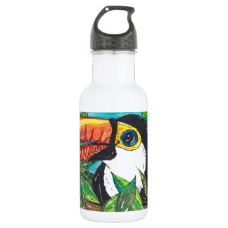 Twiggy the Toucan Water Bottle