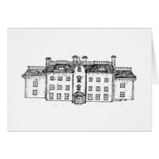 Twighlight Manor the manor itself Greeting Card