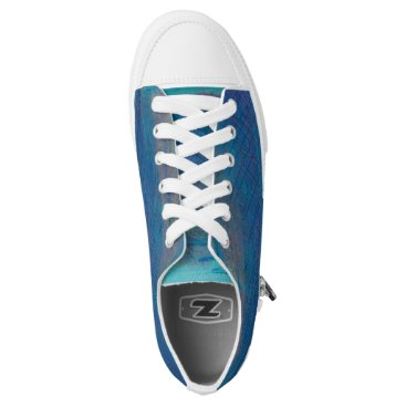 Beach Themed Twighlight Meadow Designer Low-Top Sneakers