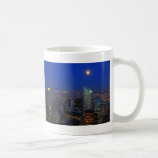 Twilght: Moonrise over the East River, NYC Coffee Mug