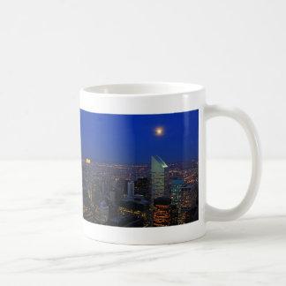 Twilght: Moonrise over the East River, NYC Coffee Mug