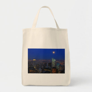 Twilght: Moonrise over the East River, NYC Tote Bag
