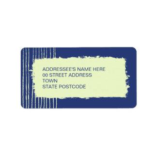 Twilight Address Label