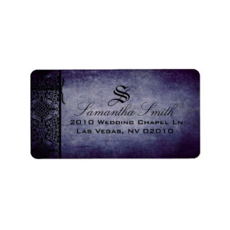 Twilight Address Label D