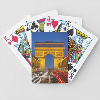 Twilight Along Champs Elysee Bicycle Playing Cards