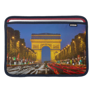 Twilight Along Champs Elysee MacBook Air Sleeve
