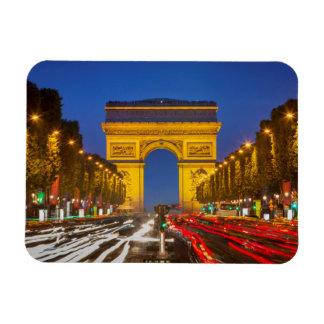 Twilight Along Champs Elysee Magnet