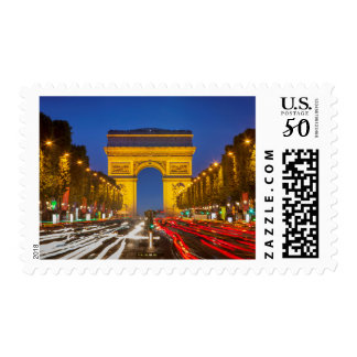 Twilight Along Champs Elysee Postage