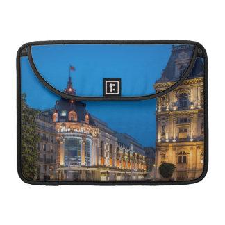 Twilight at Bazar de l'Hotel de Ville MacBook Pro Sleeve