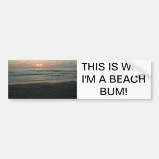 TWILIGHT AT IMPERIAL BEACH, CALIFORNIA BUMPER STICKER