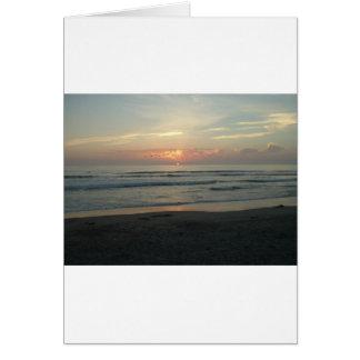 TWILIGHT AT IMPERIAL BEACH, CALIFORNIA CARD