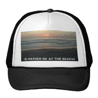 TWILIGHT AT IMPERIAL BEACH, CALIFORNIA HAT