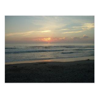 TWILIGHT AT IMPERIAL BEACH, CALIFORNIA POSTCARD